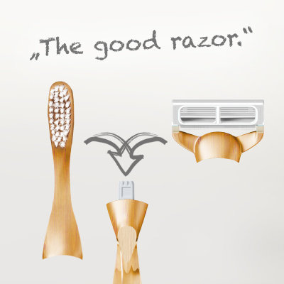 "Cradle-to-Cradle®-Konzeptstudie ""The good Razor"" Feintechnik GmbH Eisfeld"