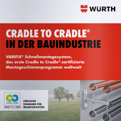 "Kommunikationskonzept ""Cradle to Cradle® in der Bauindustrie"" für die Adolf Würth GmbH & Co. KG"