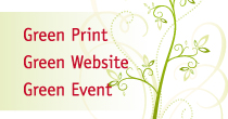 Klimaneutrale Dienstleistungen der Rittweger und Team Werbeagentur: Green Print, Green Website, Green Event