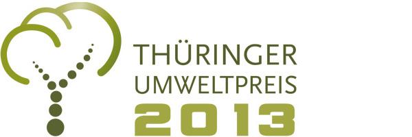 Logo Thüringer Umweltpreis 2013