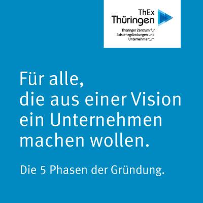 Entwicklung Crossmedia-Kampagne Thüringer Zentrum für Existenzgründungen und Unternehmertum (ThEx) Erfurt