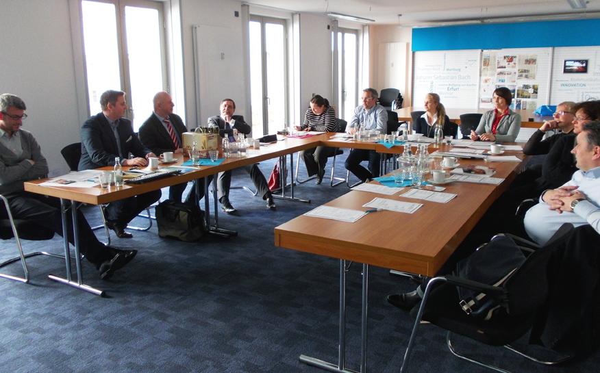 Erstes Treffen Fachbeirat für Nachhaltiges Tagen Thüringen am 11.03.2015