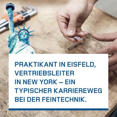 Kampagnenentwicklung Arbeitgebermarke Feintechnik GmbH Eisfeld