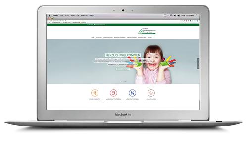 Website Stiftung Rehabilitationszentrum Thüringer Wald