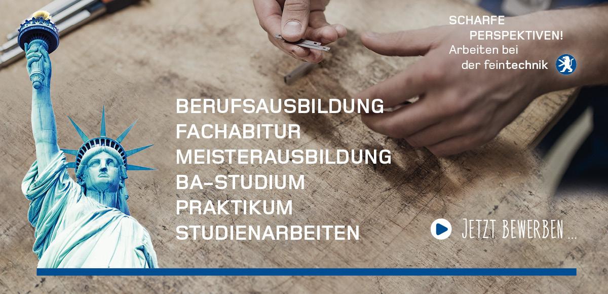Kampagnenmotiv für die Entwicklung der Arbeitgebermarke für die Feintechnik GmbH Eisfeld durch die Rittweger + Team Werbeagentur GmbH