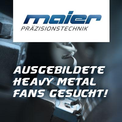 Kampagnenentwicklung Arbeitgebermarke Maier GmbH & CO. KG Präzisionstechnik