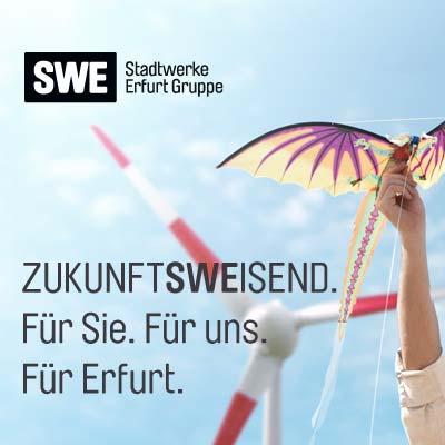 Konzept und Design Geschäftsbericht der Stadtwerke Erfurt Gruppe