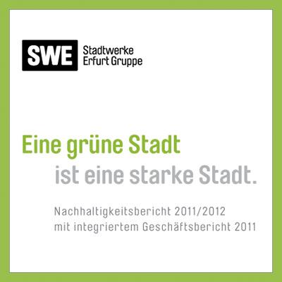 GRI-Nachhaltigkeitsbericht der Stadtwerke Erfurt GmbH mit integriertem Geschäftsbericht