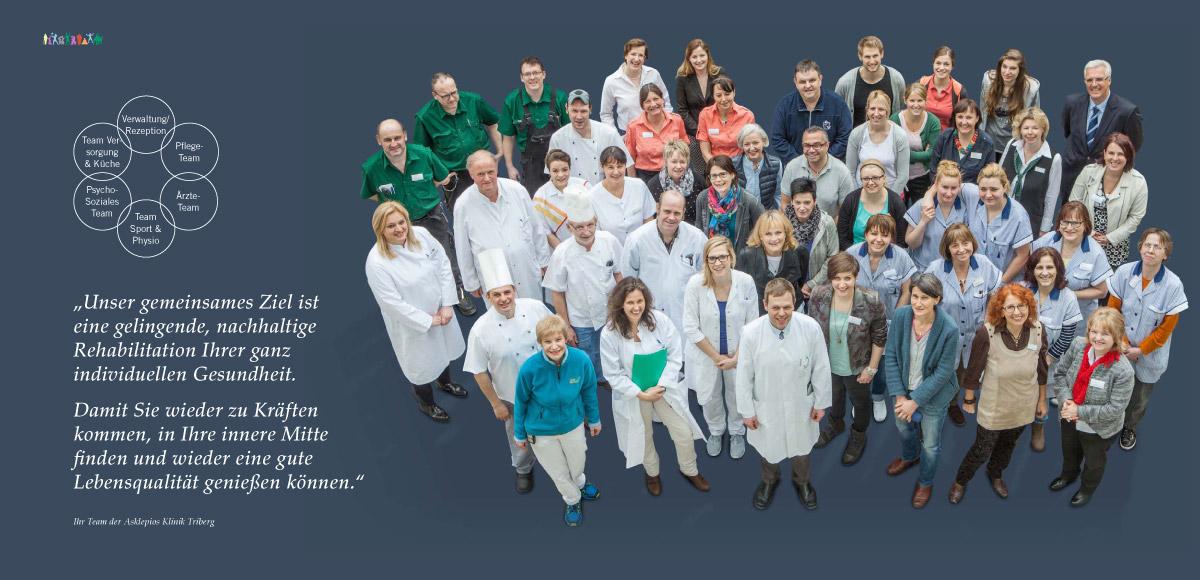 Team der Asklepios Klinik Triberg