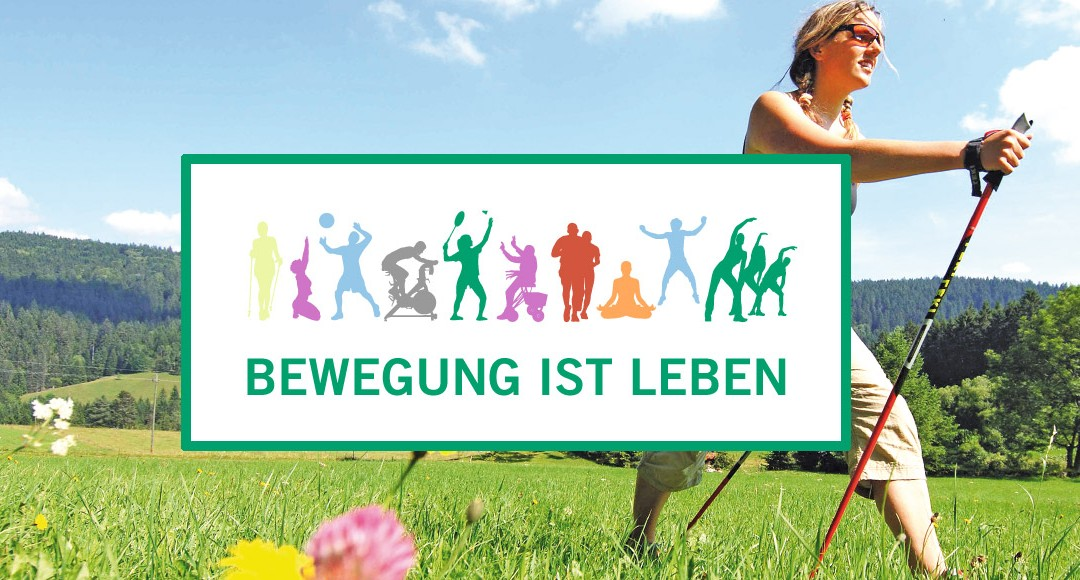 Bewegung ist Leben –Integratives Produkt- & Kommunikationskonzept für die Asklepios Klinik Triberg