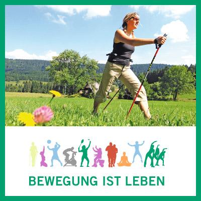 """Integratives Produkt- & Kommunikationskonzept für das Reha-Modell """"Bewegung ist Leben"""" der Asklepios Klinik Triberg"""