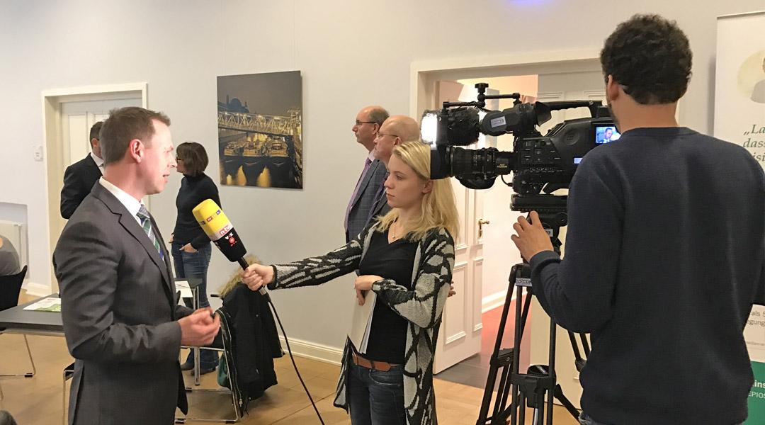 Interview mit RTL bei Pressekonferenz in Hamburg am 02.02.2017 – Vorstellung movival® App