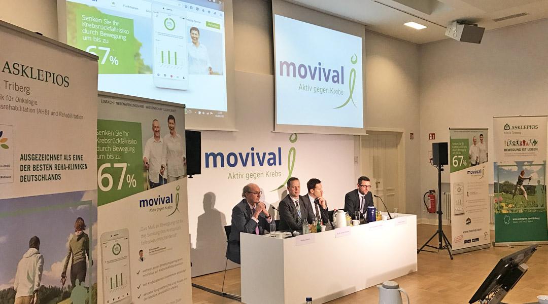 Start Pressekonferenz in Hamburg am 02.02.2017 – Vorstellung movival® App