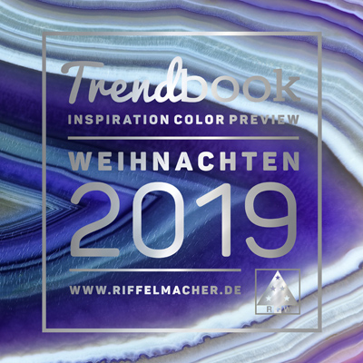 B2B Trendsetting-Kampagne für das Weihnachtsgeschäft 2019, Riffelmacher & Weinberger Christbaumschmuck-Fabrik