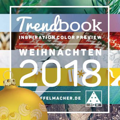 B2B Trendsetting-Kampagne für das Weihnachtsgeschäft 2018, Riffelmacher & Weinberger Christbaumschmuck-Fabrik