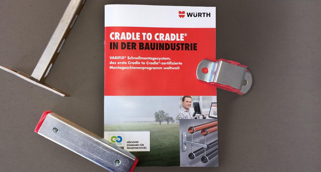 Cradle To Cradle : Broschüre für das erste cradle to cradle® produktkonzept von würth