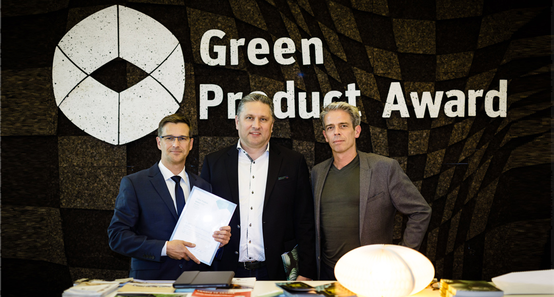 Heiko Rittweger während der Preisverleihung des Green Product Awards 2017
