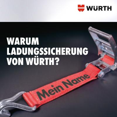 Entwicklung B2B-Kommunikation für Produktkampagnen der Adolf Würth GmbH & Co. KG