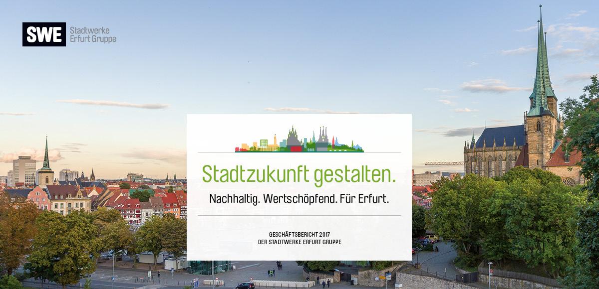 Leitmotiv Stadtwerke Erfurt Geschäftsbericht 2017