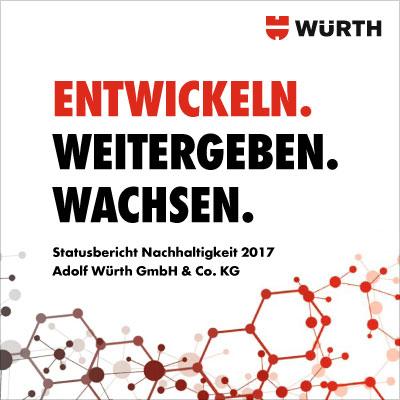 Erster Nachhaltigkeitsbericht für die Adolf Würth GmbH & Co. KG