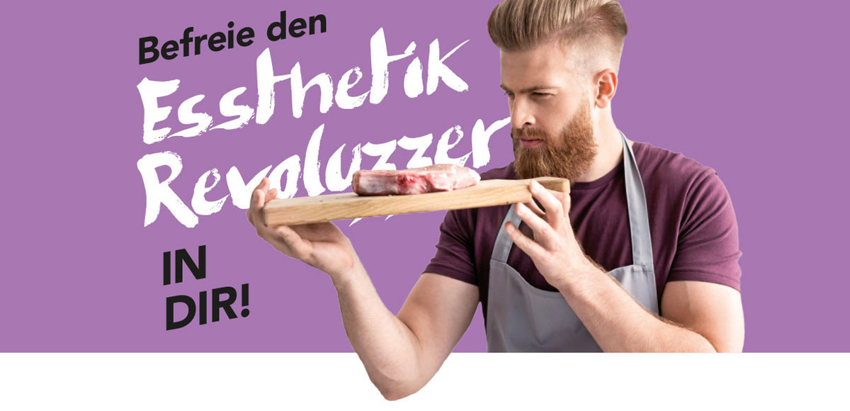 """Motiv Arbeitgebermarketing Hotel Schwarzwald Panorama """"Befreie den Essthetik Revoluzzer in dir!"""""""