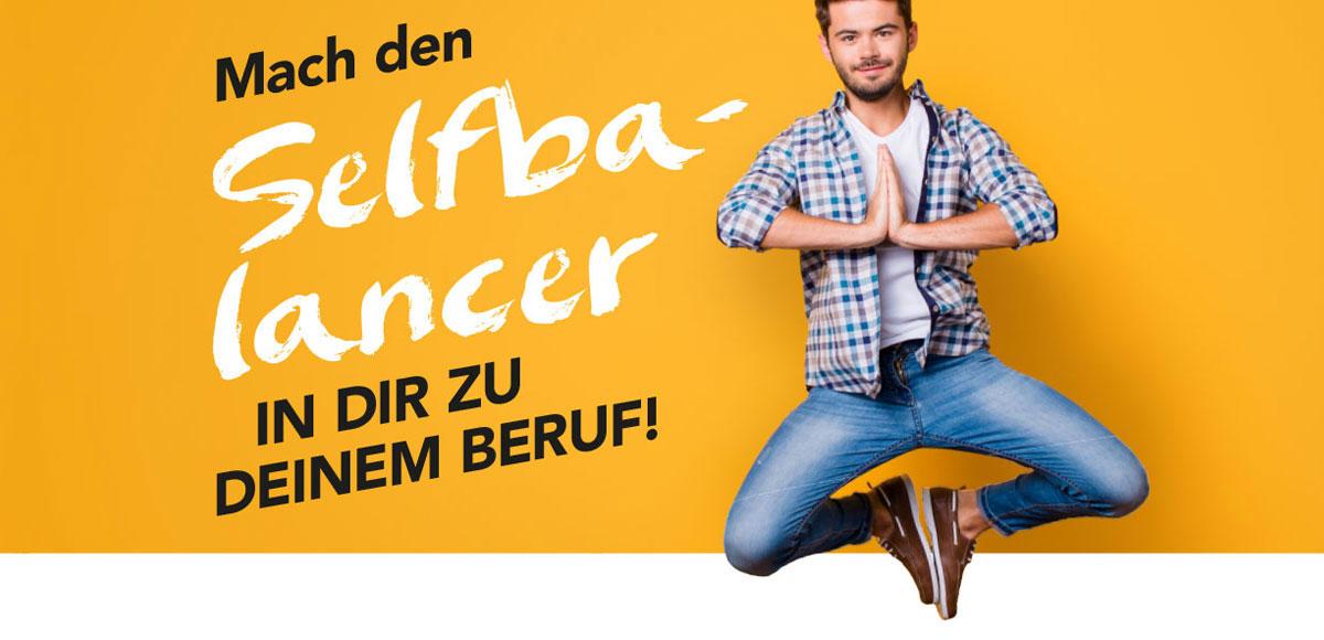 """Motiv Arbeitgebermarketing Hotel Schwarzwald Panorama """"Mache den Selfbalancer zu dir in deinem Beruf!"""""""
