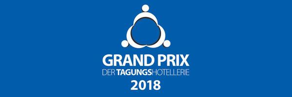 Logo Grand Prix der Tagungshotellerie 2018 Platz 1 Kategorie A