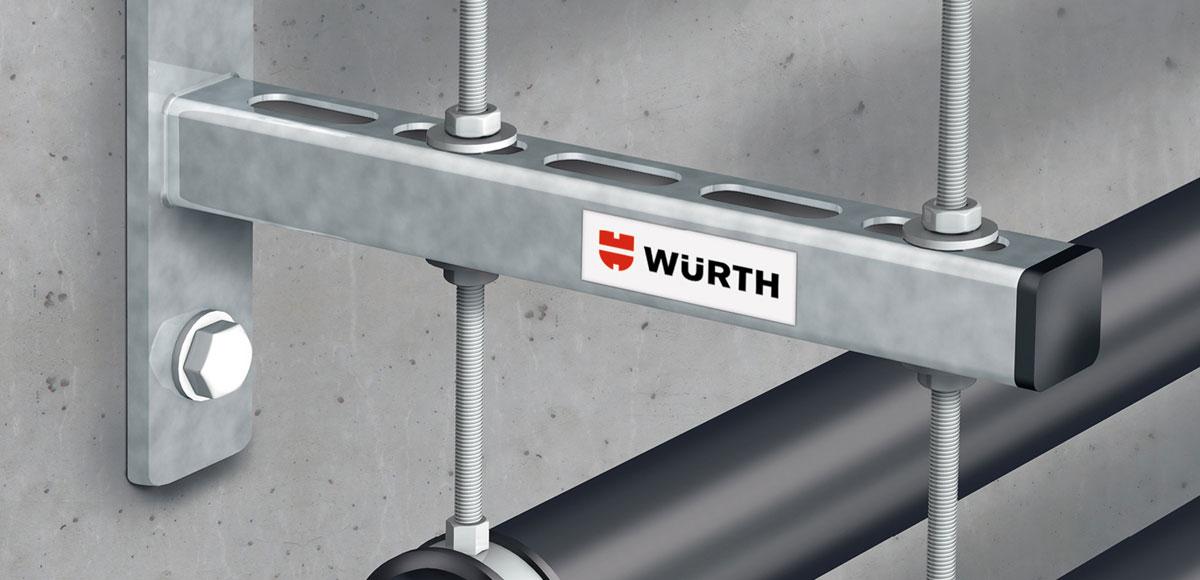 VARIFIX Schnellmontagesystem der Adolf Würth GmbH