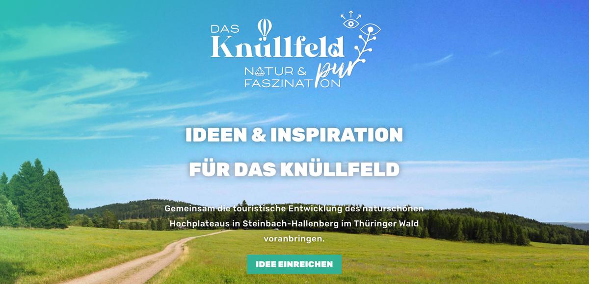 Konzeptstudie von Rittweger und Team und der LEG für das Knüllfeld in Steinbach-Hallenberg