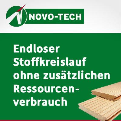 Kommunikationskonzept zur Cradle to Cradle™ Zertifizierung für megawood-Produkte von NOVO-TECH
