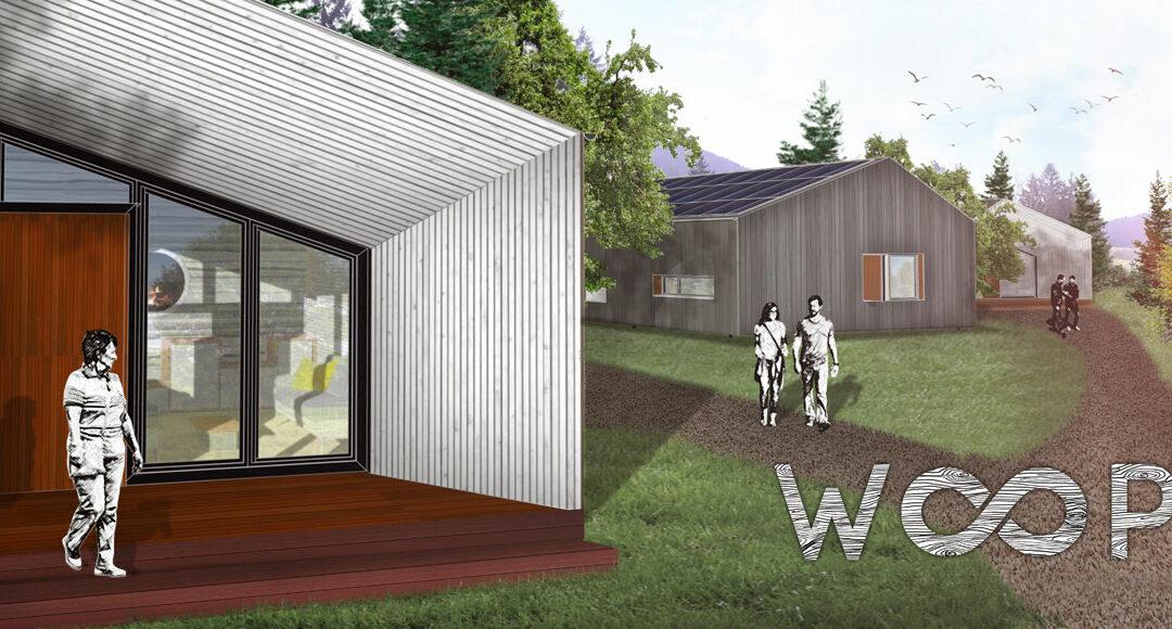 """Konzeptstudie """"WOOP – das Cradle to Cradle® inspirierte Ferienhaus"""" für nachhaltige Tourismus-Destinationen, Investoren und Projektentwickler"""
