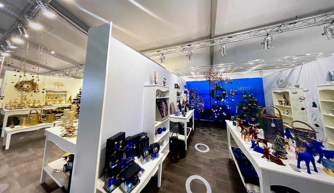 B2B Trendsetting-Kampagne mit virtuellem Showroom für das Weihnachtsgeschäft 2021, Riffelmacher & Weinberger Christbaumschmuck-Fabrik