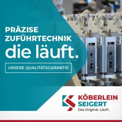 Markenrelaunch und Webkonzept für Köberlein & Seigert GmbH