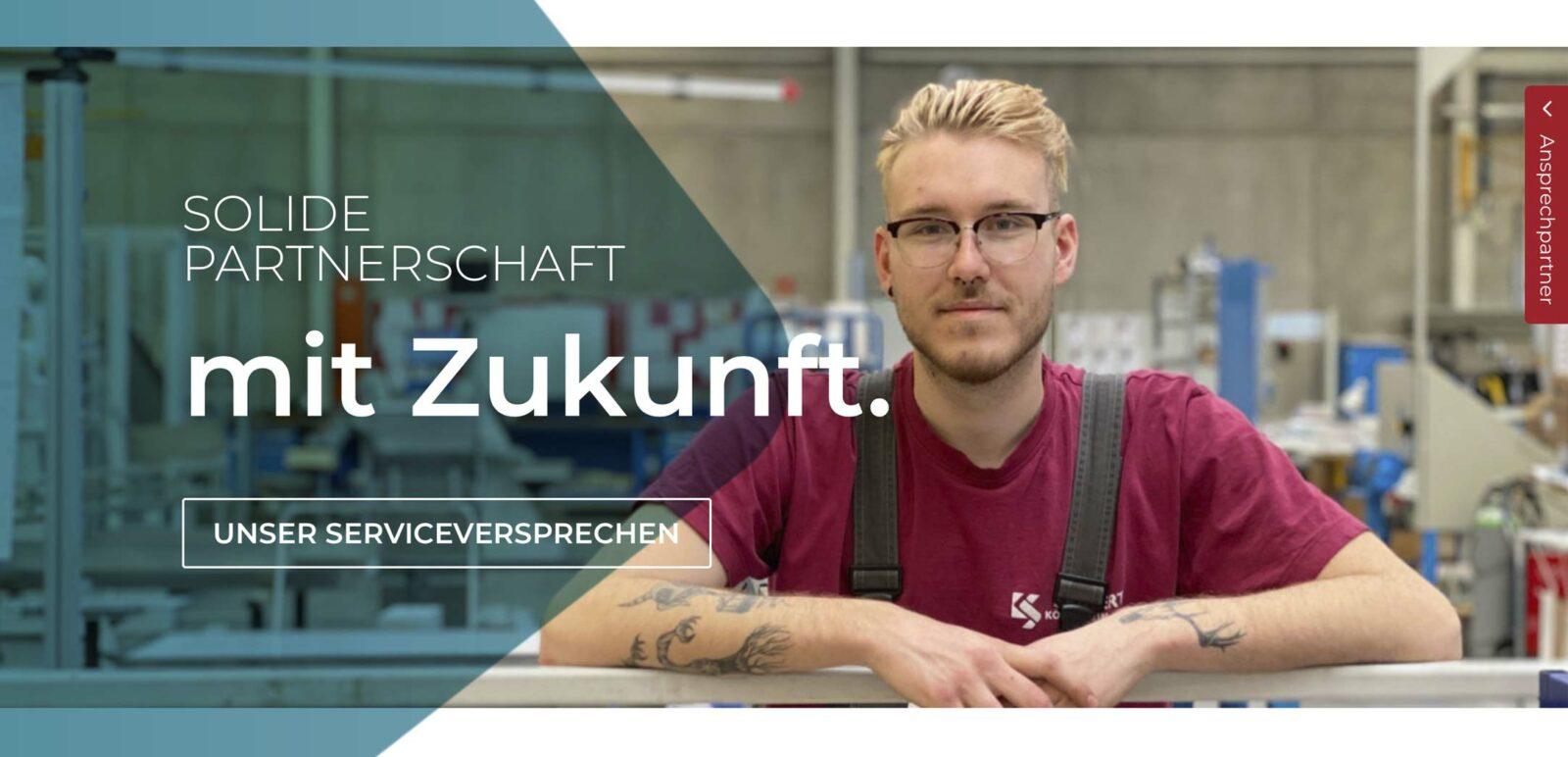 Leitmotiv von Köberlein & Seigert GmbH entwickelt durch die Rittweger + Team Werbeagentur